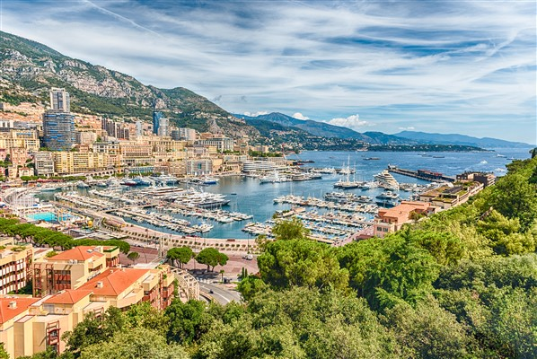A luxurious place to start a new life in is Monaco