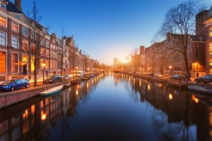 Amsterdam Canals Red Light District