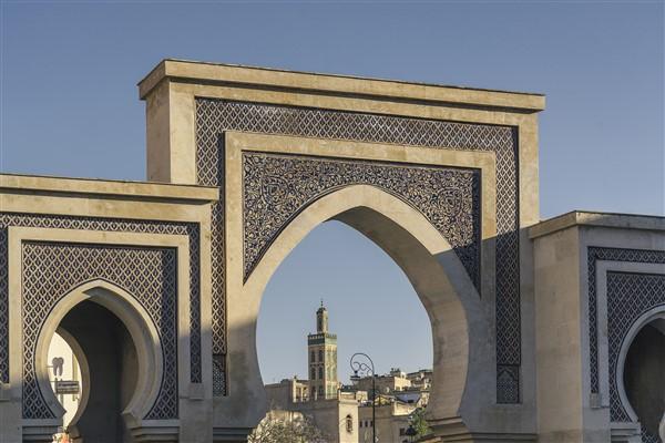 Blue Gate, Fez Morocco