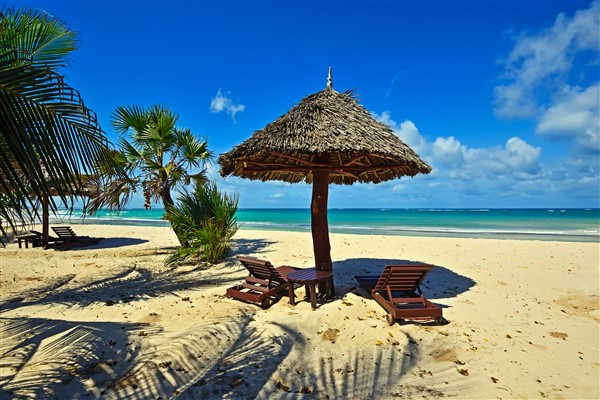 Most Famous Kenyan Private Beach, Diani Beach