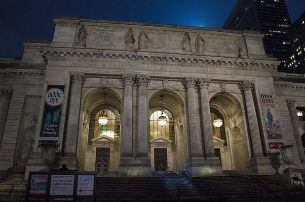 New York Public Library As Seen In Sex And The City The Movie