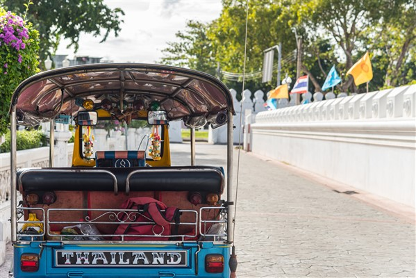 No need to own a vehicle in Thailand
