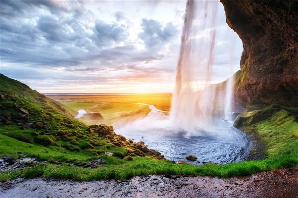 Seljalandsfoss is most famous Icelandic waterfall