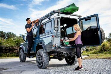 Custom Classic Defender - ECD Automotive Design (Luxurious Land Rover Defender Builder)